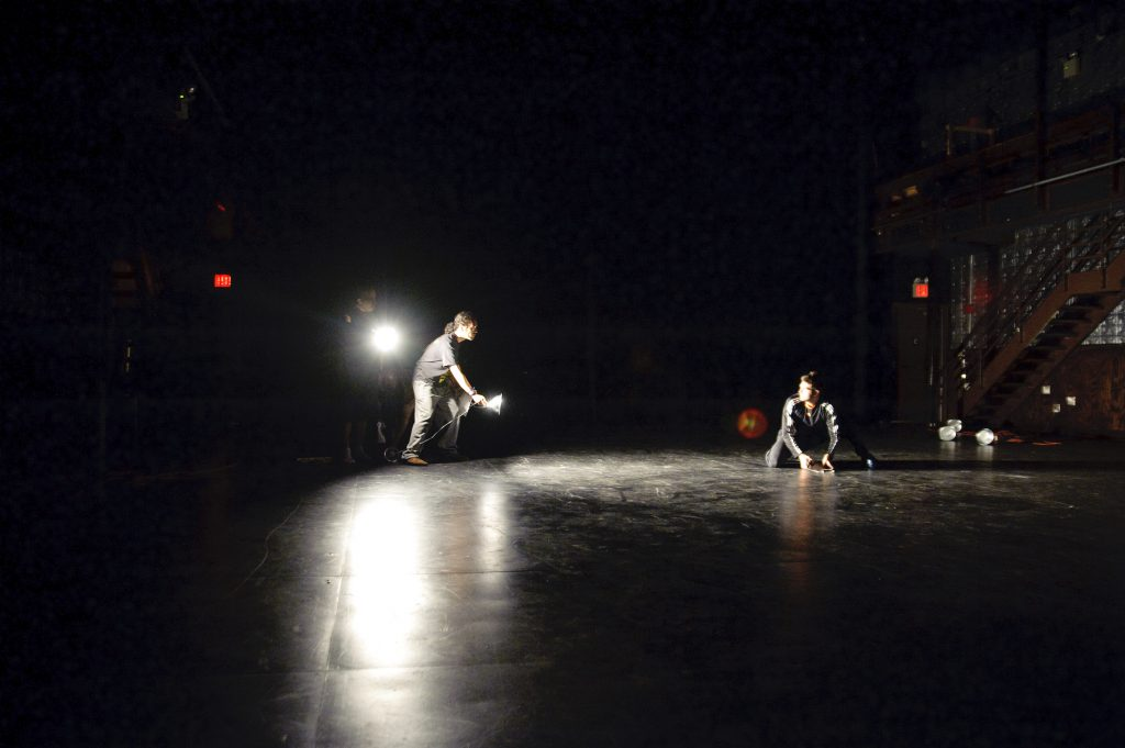 Moment work at La MaMa. Picture by The Kennedy Center.